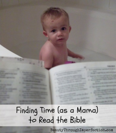 Making time to read the Bible