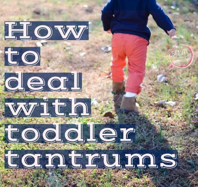 Toddler Tantrum Tactics