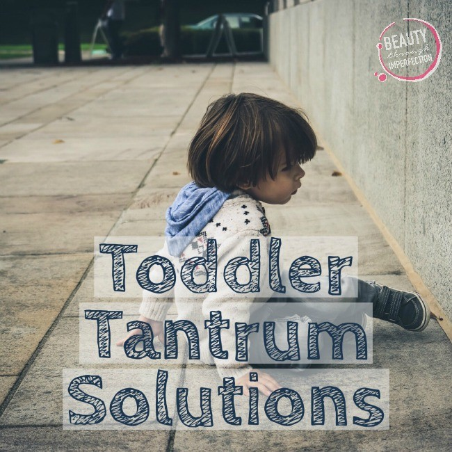 toddler tantrum solutions