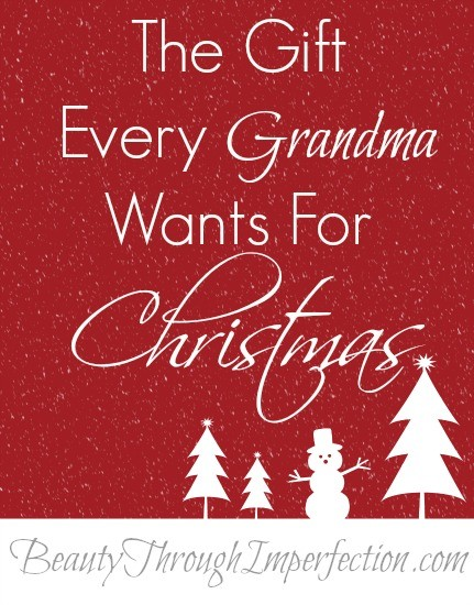 Perfect Christmas Gift Idea for Grandma!