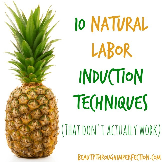 10 Labor Inducing Techniques That Don't Work