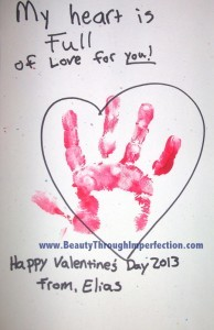 Valentines Day Craft For Toddlers Beauty Through Imperfection