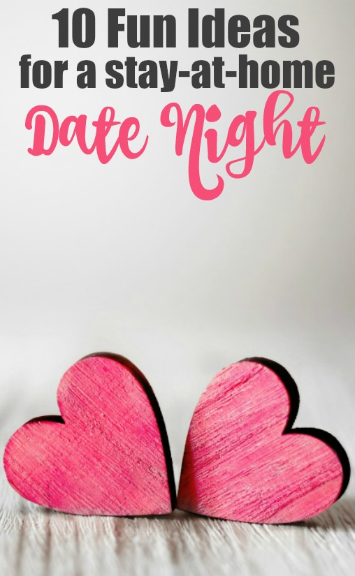 Beyond Movie night – 10 at home date night ideas