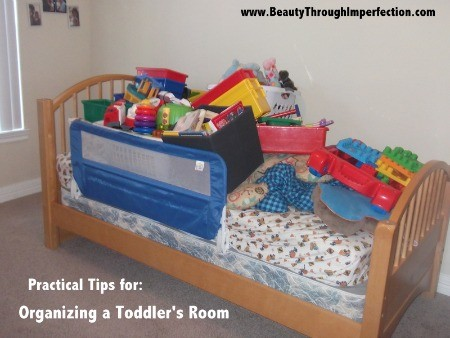 Organizing & Decorating Little Man's room – After Pictures