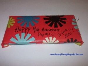 4 year anniversary gift(s) – A four day celebration