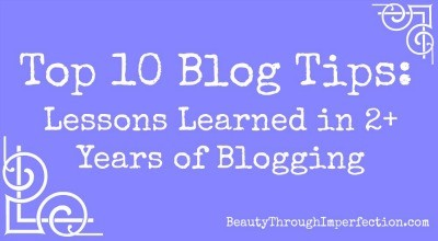 Top 10 Blogging Tips