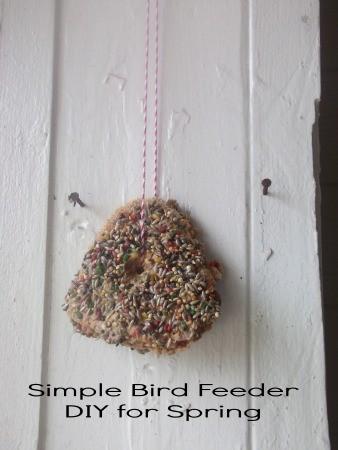Pretty Bird Feeder DIY for Spring