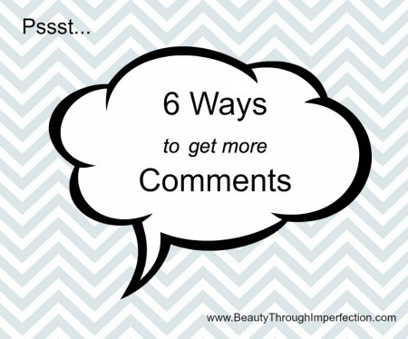 This is great! Wondering why no one is commenting on your blog??? These are awesome tips for getting people to comment and interact with you on your blog!!! MUST READ for bloggers!!!!