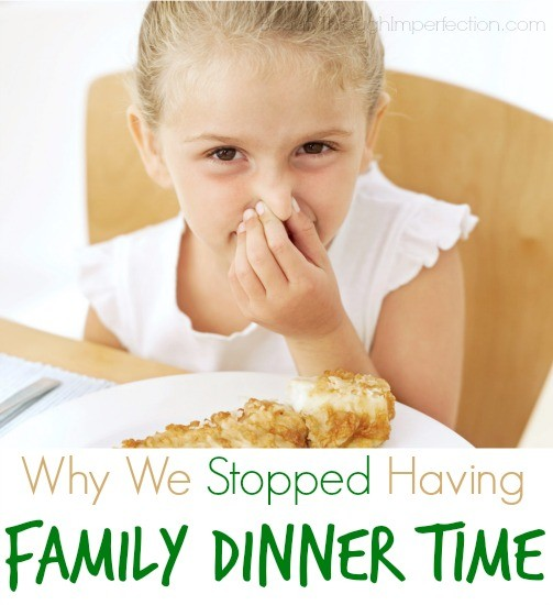 Family Dinner – Confessions of an Imperfect Mother #23