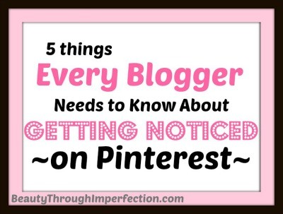 5 Ways to Get Noticed on Pinterest