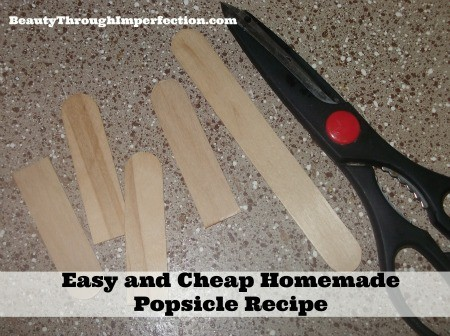 Homemade Popsicle Recipe