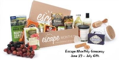 Escape Monthly Giveaway – Pamper Yourself! #ad