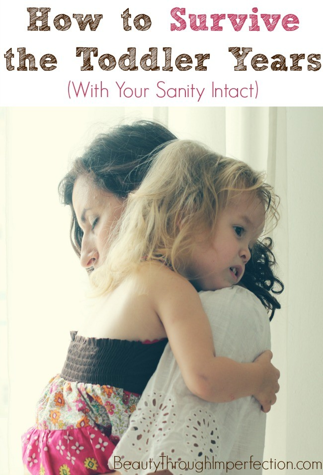 survive the toddler years with your sanity intact