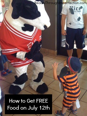 Chick Fil A Free Food July Th