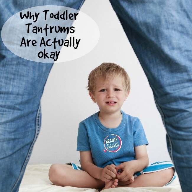 frustrated by toddler tantrums