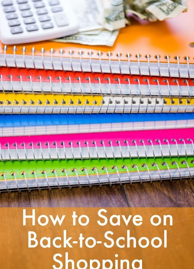 How to Save on Back to School Items