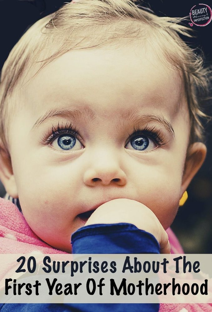 20 Surprises about the first years of motherhood