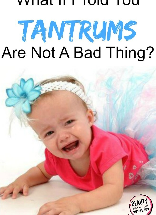 Why I'm (sort of) okay with Tantrums