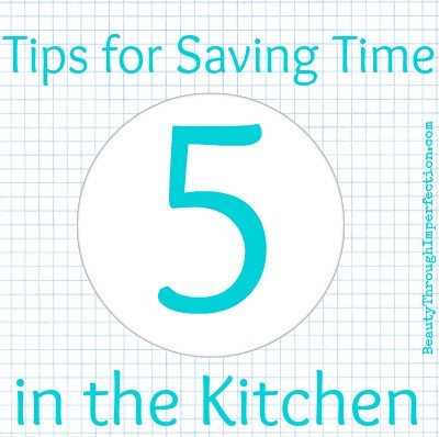 5 tips for saving time in the kitchen
