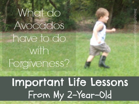 Life lessons from my 2 year old