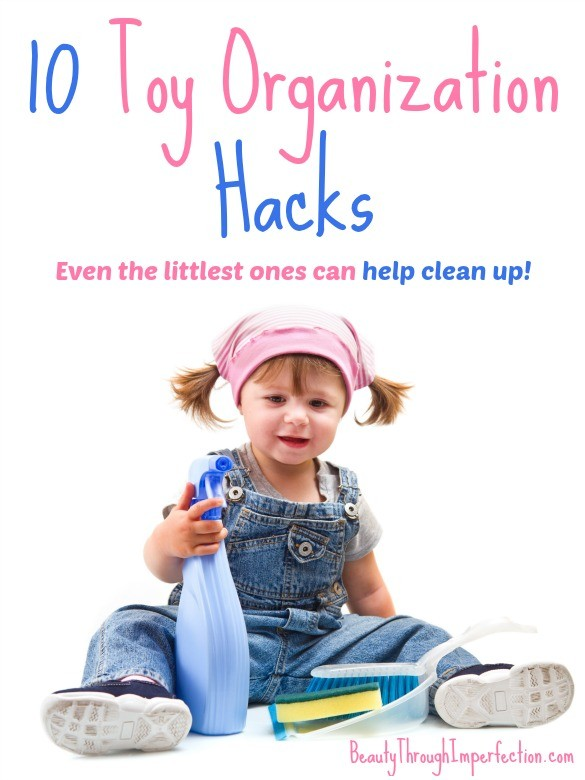 Toy organization hacks