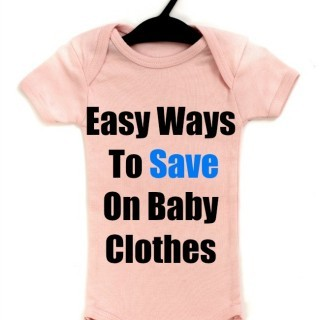 easy ways to save on baby clothes