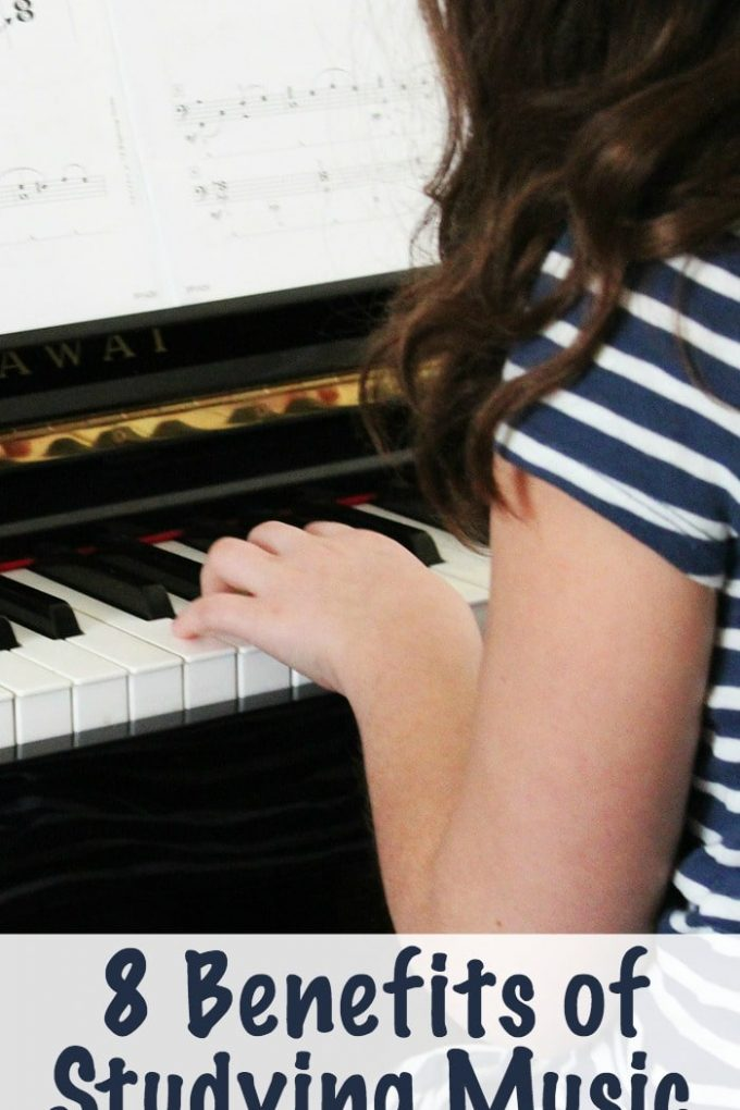 8 Benefits of Studying Music for Children