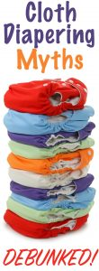 cloth diapering myths debunked