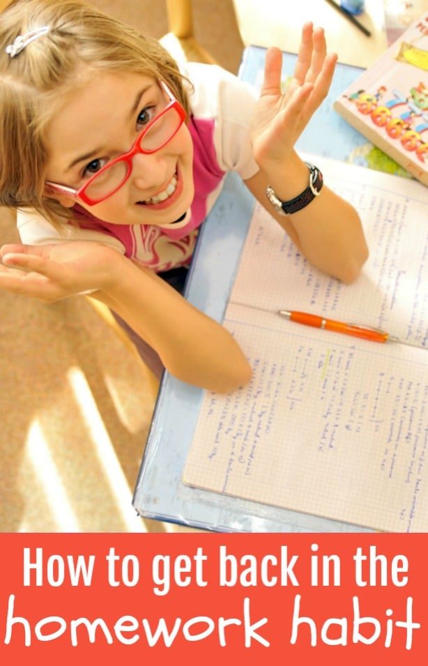 8 Ways to Make Homework a Habit