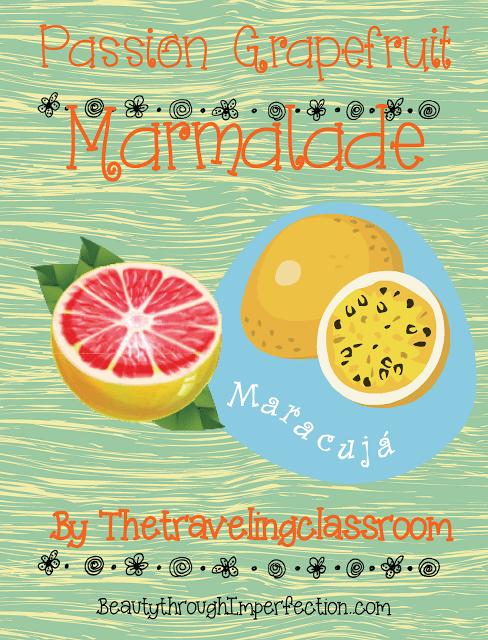 Passion Grapefruit Marmalade