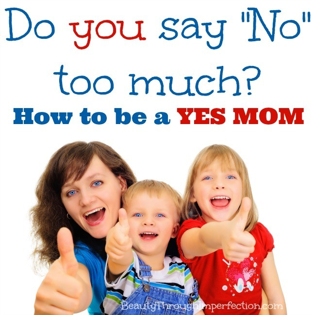 Saying No (Too Much) – Confessions of an Imperfect Mother #37