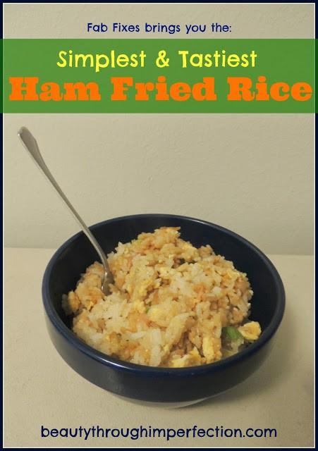 simplest and tastiest ham fried rice