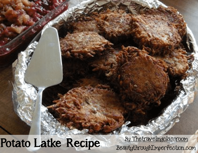 Potatoe Latkes
