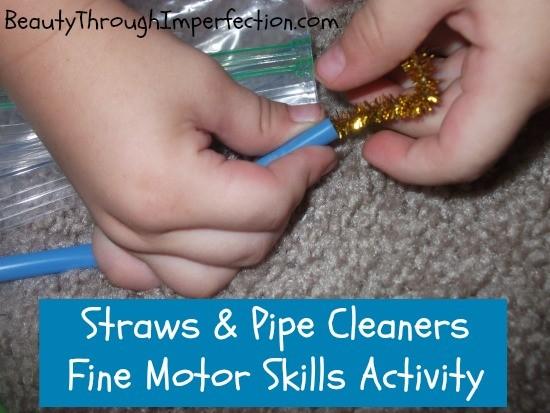 fine motor skills activity