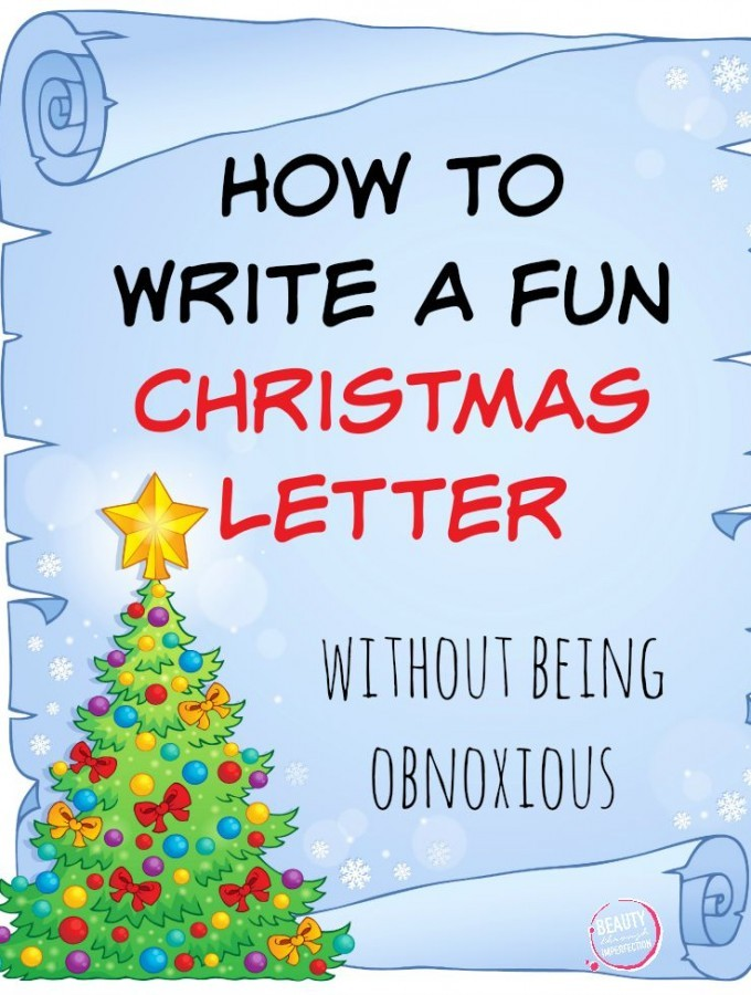 How to Write a Christmas Letter (Without Being Obnoxious)