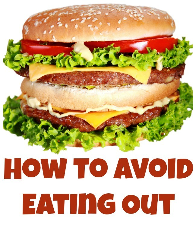 avoid eating out