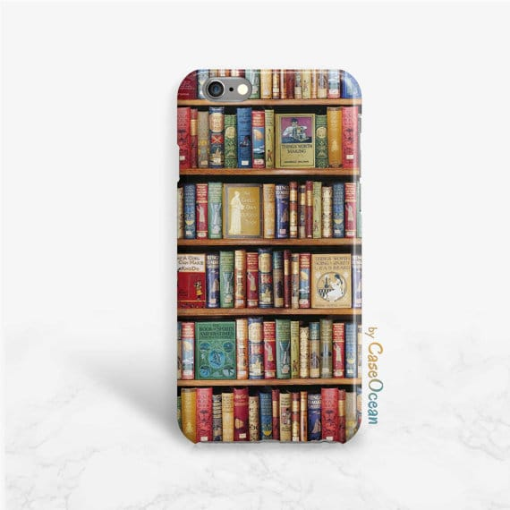 bookshelf-phone-case