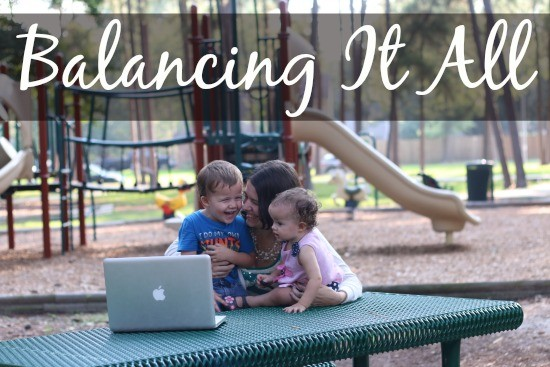 Balancing It all family and blog