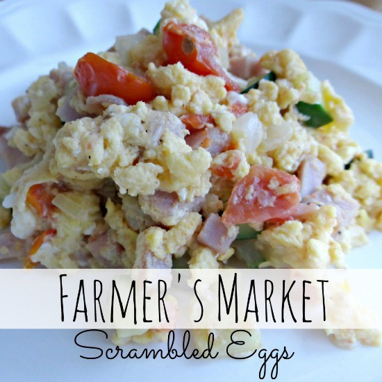 Farmer's Market Scrambled Eggs