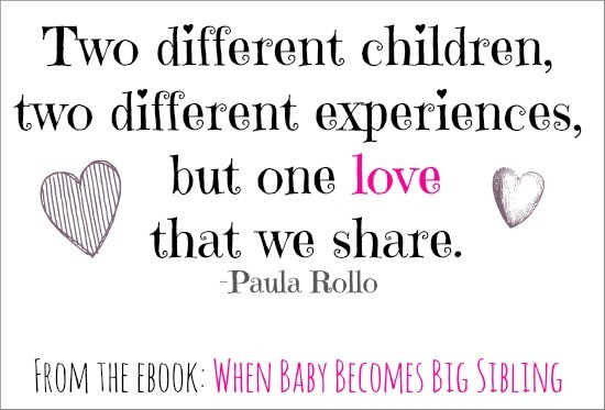 When Baby Becomes Big Sibling - Quotes & Reviews - Beauty ...
