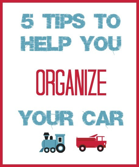 How to Organize Your Car & a Giveaway
