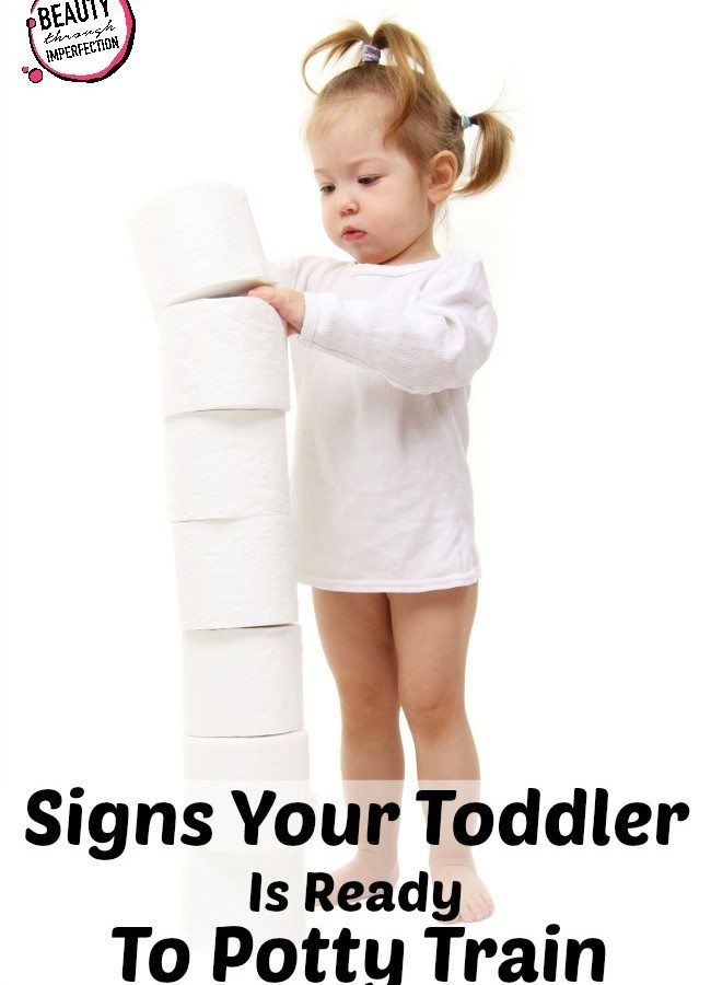 4 Signs Your Toddler Is Ready to Potty Train
