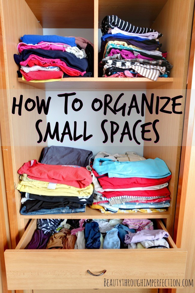 How To Organize A Small House how to organize a small house - beauty through imperfection
