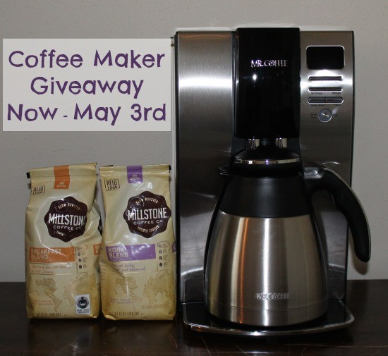 Mr. Coffee® maker and Millstone® coffee Giveaway!
