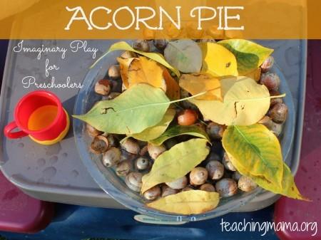 Acorn pie