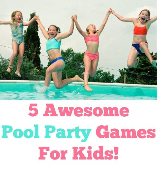 games to play at a party for kids