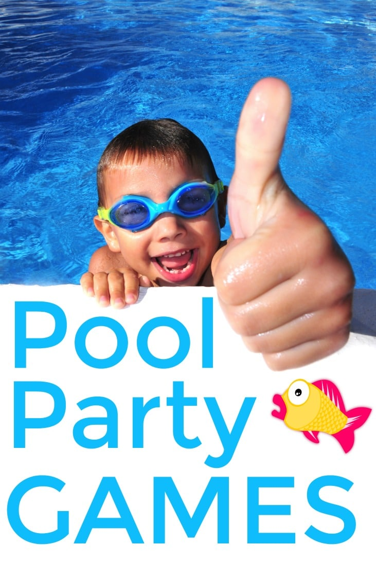 Fun pool party games for kids to have fun
