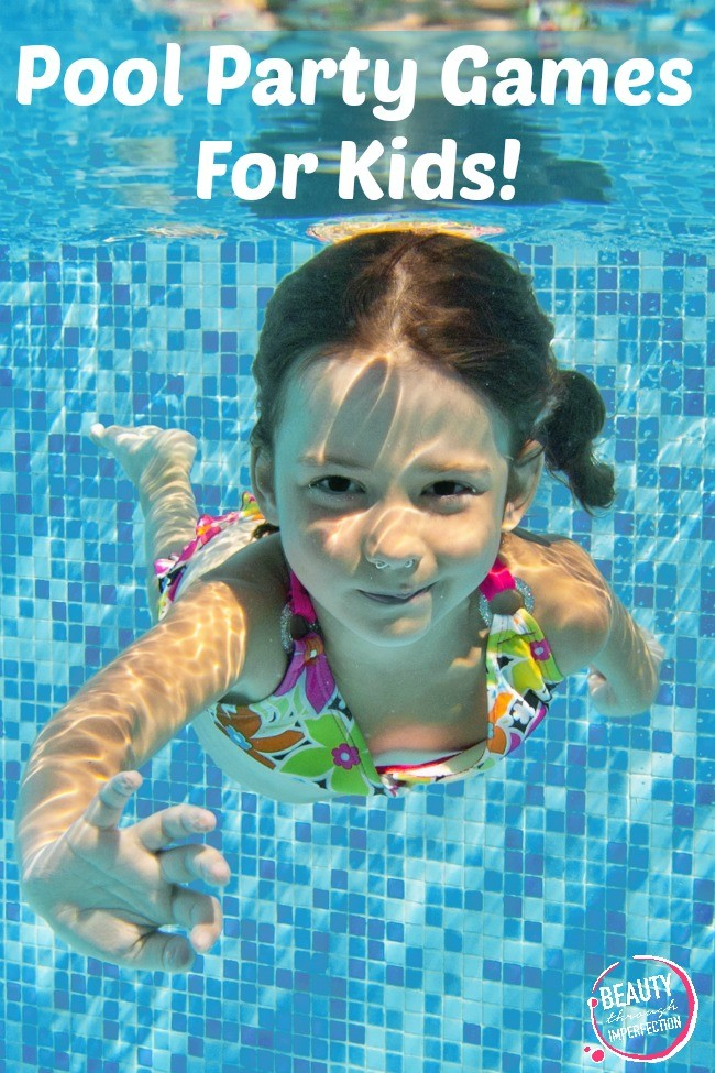 fun pool party games for kids