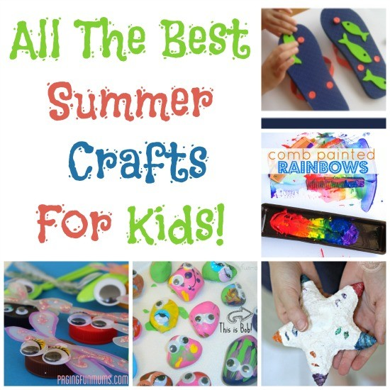 Summer Themed Crafts & A Cash Giveaway!