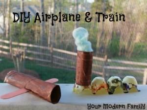DIY-airplane-Train
